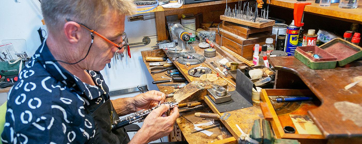 Luthier Occitanie : Réparation d´Instruments à Vent